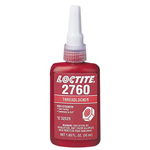 Loctite 2760 Threadlocker, Primerless High Strength, 250 mL, Red