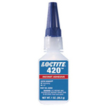 Loctite 420 Super Bonder Instant Adhesive, Cyanoacrylate, Wicking