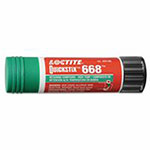 Loctite QuickStix 668 Retaining Compound, High Temperature, 19 g Tube, Green, 1870 psi