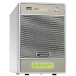 Netgear ReadyNAS NV+ RND4210 - NAS - 2 TB - Serial ATA-150 - HD 1 TB x 2 - RAID 0, 1, 5 - Gigabit Ethernet