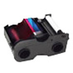 Fargo Print Ribbon Cassette With Cleaning Roller