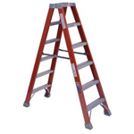Louisville Ladder 8' Fiberglass Twin Stepladder Type 1a