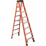 Louisville Ladder 8' Brute 375 Fiberglassstep Ladder