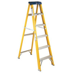 Louisville Ladder 8'pioneer Fiberglass Step Ladder
