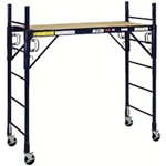 Louisville Ladder 6' x 6' Steel Rolling Tower Scaffold Fortruss Ss