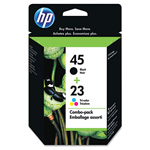 HP 140 Black / Cyan / Magenta / Yellow Inkjet Cartridge, Model C8790FN140, 830PGS Page Yield