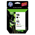 HP 95 Black / Cyan / Magenta / Yellow Inkjet Cartridge, Model CB327FN140