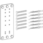 Ergotron Steel Stud Wall Mounting Kit - Mounting Component