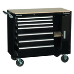 Kennedy Pro Line 7 Drawer Maintenance Cart w/Side Compar