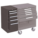 Kennedy 10406 Hang-on Cabinet 5-drawer w/Friction Slides