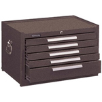 Kennedy 00050 Mechanic Chest 5 Drawer Brown