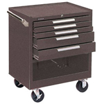 Kennedy 00067 Roller Cabinet 5 Drawer w/Compartment