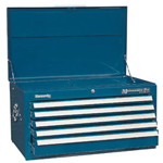 Kennedy 00871 Smooth Blue 5 Drawer Maint. Pro Chest