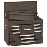 Kennedy 00078 Mechanic Chest 10drawer Brown