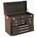 Kennedy 00094 MACHINIST CHEST 11DRAWER BROWN