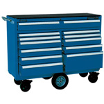 Kennedy 00885 SMOOTH BLUE 12 DRAWER MAINT. PRO CART