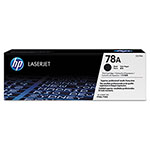 HP 78A Black Laser Toner, Model CE278A, 2100 Page Yield