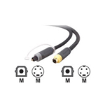 Belkin Pure AV video / audio cable - S-Video / digital audio - 12 ft