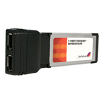 Startech 2 Port ExpressCard 1394a FireWire Laptop Adapter Card - FireWire Adapter - 2 Ports