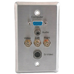Cables To Go Impact Acoustics Wall Plate