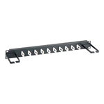Belkin Low-Density Cable Manager Rack Cable Management Panel - 1U