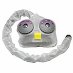 MSA Decon Cover for OptimAir TL Powered Respirator, Protective Cover, 5 per package