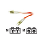Cables To Go Patch cable - LC multi-mode (M) - LC multi-mode (M) - 26 ft - fiber optic - 62.5 / 125 micron - orange