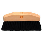 Magnolia Brush Black Horsehair & Plastic Window Brus