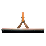 "Magnolia Brush 18"" Drive way Squeegees w/Handle"