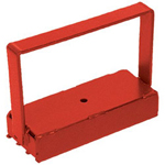 Magnet Source 150# Pull Heavy Duty Handle Magnet Red