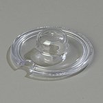 Carlisle Foodservice Products Clear Jelly/Marmalade Jar Lids