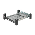 RackSolutions® Heavy Duty Sliding Rack Mount - Rack Shelf (sliding) - 2U