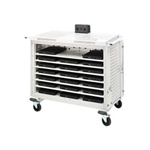 Bretford Basics Notebook Storage Cart LAP20ULH-CT - notebook storage cart