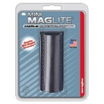 Maglite® Plain Black Leather Holster for Aa Mini M