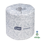 SCA Tissue Tork Universal Bath Tissue Roll, 1-Ply, Case of 96