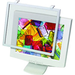 "3M BF10 XL Display Screen Filter, 16"" to 19"" CRT, 17"" to 18"" LCD"