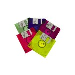 Imation 10 x Floppy Disk - 1.44 MB - Green, Blueberry, Tangerine, Lime, Raspberry - PC - Storage Media