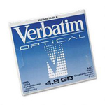 Verbatim 5.25 MO 8X Capacity - MO x 1 - 4.1 GB - storage media