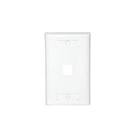 Cables To Go Premise Plus Multimedia Keystone Wall Plate - wall plate
