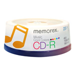 Imation Cool Colors Music - CD-R x 25 - 700 MB - storage media