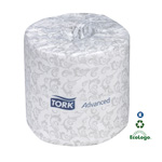 SCA Tissue Tork Advanced Bath Tissue Roll, Case of 96