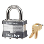 Master Lock Company 4 Pin Tumbler Safety Padlock Keyed Different