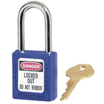 Master Lock Company 6 Pin Blue Safety Lock-out Padlock Keyed Differ