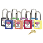 Master Lock Company 6 Pin Green Safety Lock-out Padlock Keyed Differ