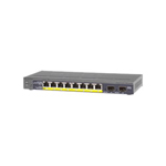Netgear ProSafe GS110TP Gigabit Smart Switch With PoE - Switch - 8 Ports