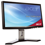 Acer T230H bmidh - LCD display - TFT - 23""