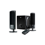 Hercules XPS 2.1 20 Black PC Multimedia Speaker System