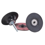 "Merit Abrasives 2"" Type 3 Power-lock Disc Holder Medium"