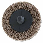 Merit Abrasives Deburring /Finishing Button Mount Wheel Type lll 2A, 2X1/4, Med, Aluminum Oxide