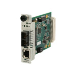 XBlue Point System Slide-In-Module Fast Ethernet Class A Media Converter - media converter